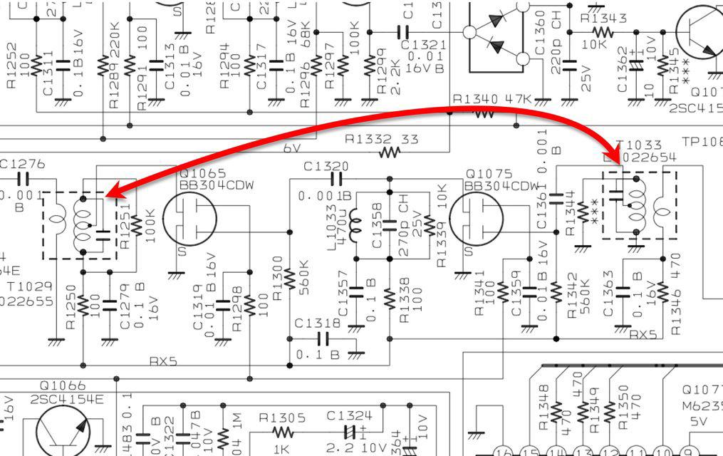 FT-817NDの回路図