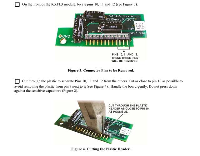 図6 Elecraft社の改造手順書