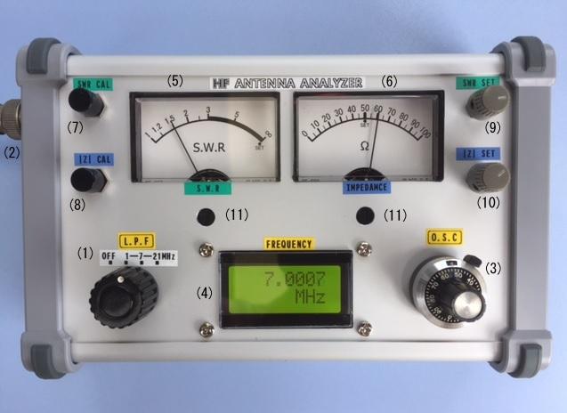 写真1-HF帯アンテナ・アナライザ