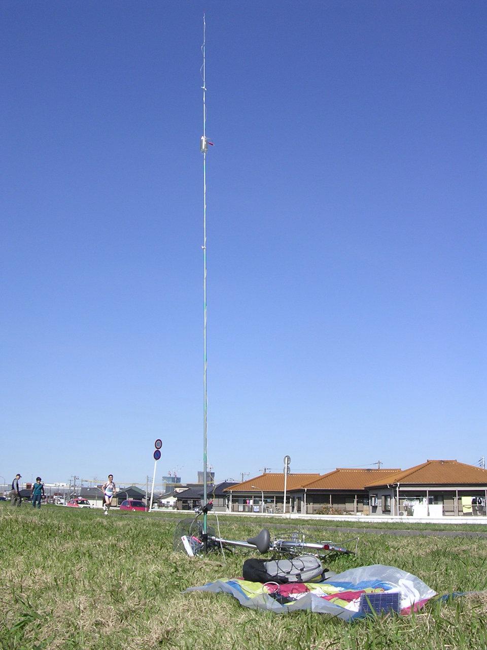 2007年10月21日のQRPエコデイ移動運用