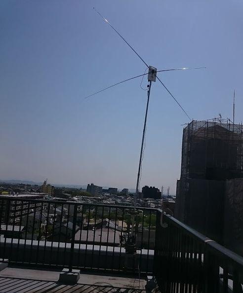 50MHz用AWXアンテナ[CB-505]の完成