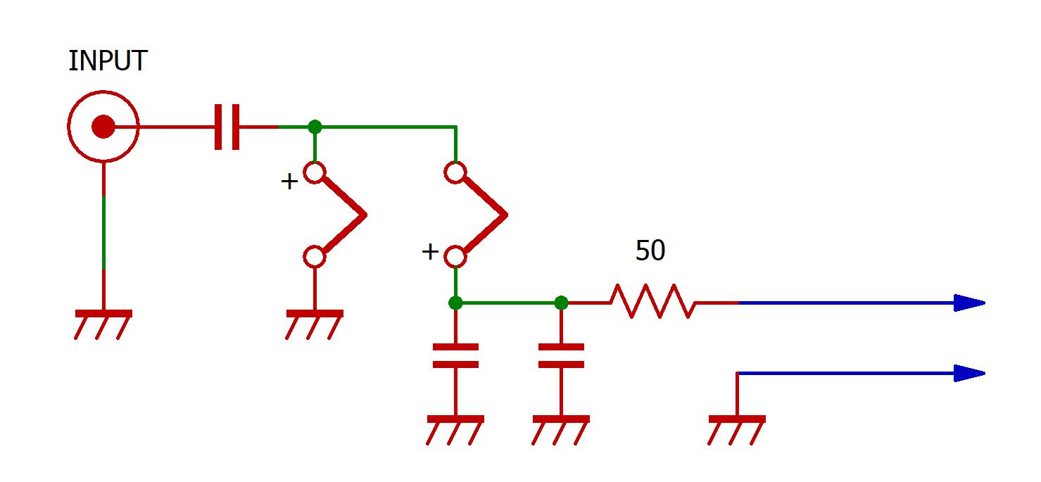 超小型の基板の回路図